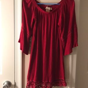 Flying tomato dress red s